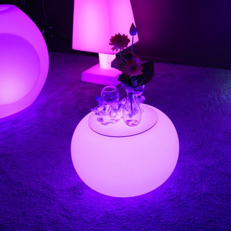 Table Basse Lumineuse à LED Multicolore - ROUND S