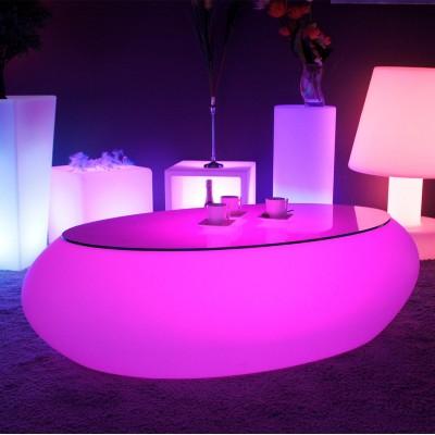 Table Basse Lumineuse à LED Multicolore - STONE