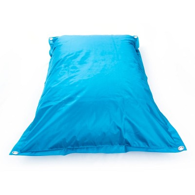 Riesiger türkisblauer Sitzsack im Freien BiG52 IRON RAW