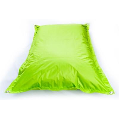 Puf gigante de exterior verde lima BiG52 IRON RAW