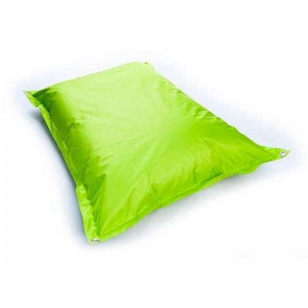 Pouf da esterno gigante verde lime BiG52 IRON RAW