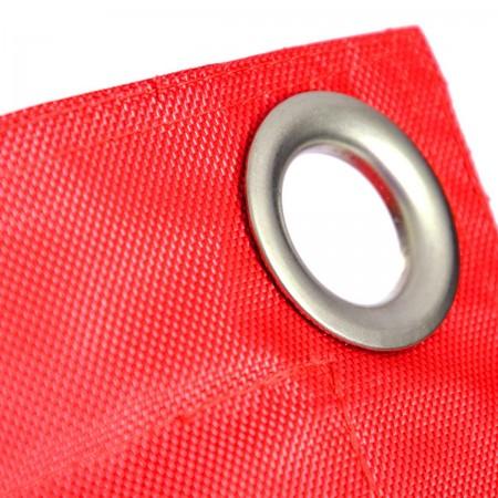 Pouf gigante da esterno rosso BiG52 IRON RAW