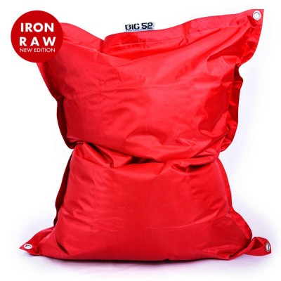 Riesensitzsack Outdoor Red BiG52 IRON RAW