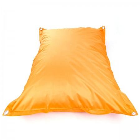 Pouf gigante da esterno arancione BiG52 IRON RAW