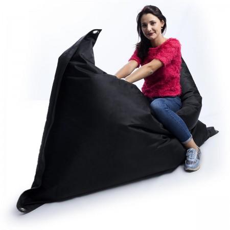 Puf gigante Outdoor Negro BiG52 IRON RAW
