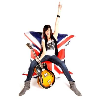 Beanbag gigante BiG52 Bandera inglesa del Reino Unido