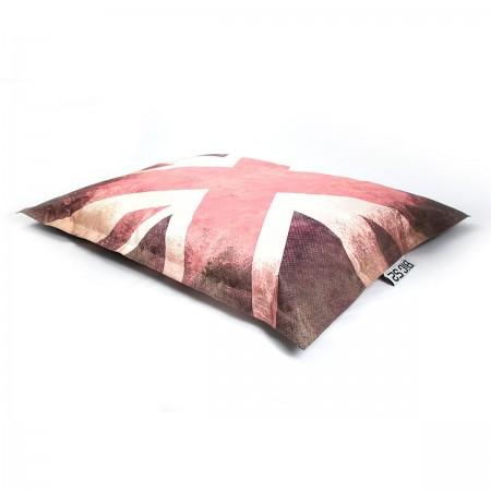 Puf gigante BiG52 VINTAGE Reino Unido Bandera inglesa