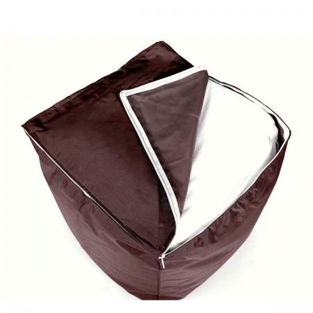 Cube Pouf BiG52 - Schokolade