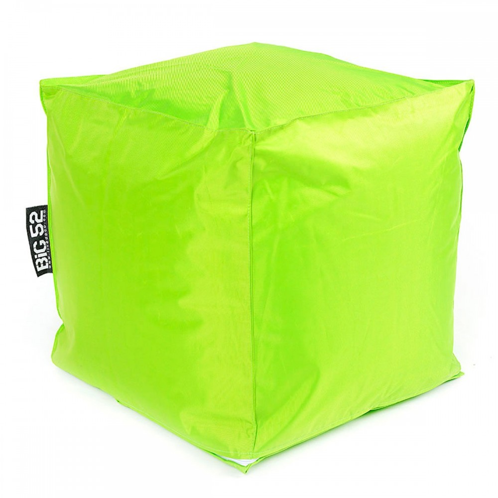Pouf Cube BiG52 - Lime