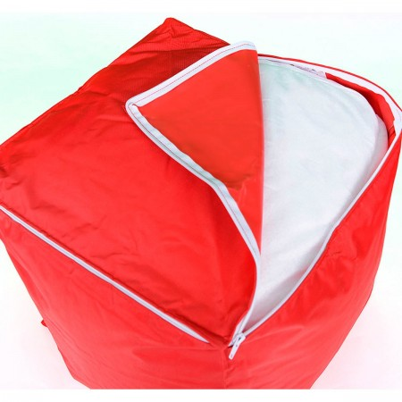 Pouf Cube BiG52 - Rouge