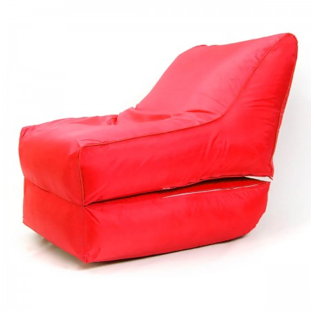 Pouf transat BiG52 rouge