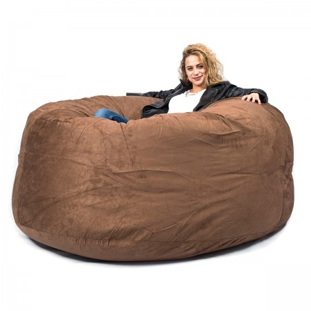 Pouf Géant XXXL BiG52 TiTAN - Marron