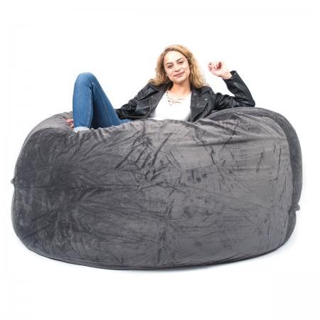 Riesen Sitzsack XXXL BiG52 TiTAN - Graues Vlies