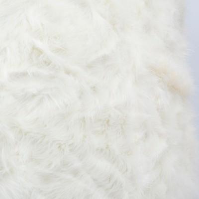 Puf gigante XXXL BiG52 TiTAN - Piel blanca