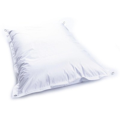 Housse pouf géant BiG52 IRON RAW Blanc