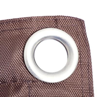 Copri pouf gigante BiG52 IRON RAW Cioccolato