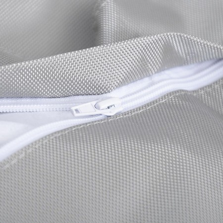 Riesige Hockerabdeckung BiG52 IRON RAW Grey