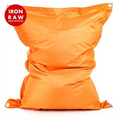 Riesige Hockerhülle BiG52 IRON RAW Orange
