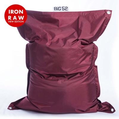Copri pouf gigante BiG52 IRON RAW Plum