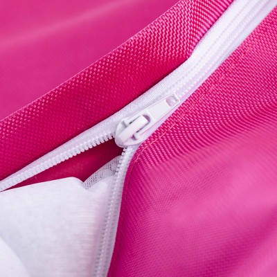 Riesige Hockerhülle BiG52 IRON RAW Pink