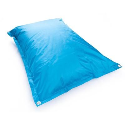 Copri pouf gigante BiG52 IRON RAW Blu turchese