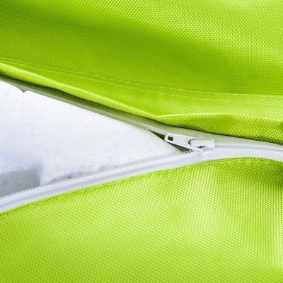 Riesige Hockerabdeckung BiG52 IRON RAW Lime Green