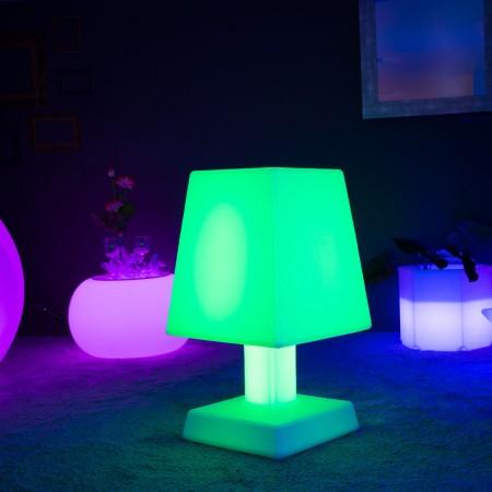 Lámpara de mesa LED multicolor - ABA - XL SQUARE
