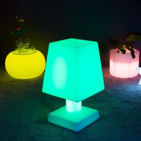 Lampe à poser LED Multicolore - ABA - XL SQUARE