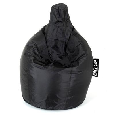 Fodera per pouf pera nera BiG52