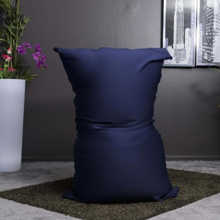 Pouf gigante elasticizzato blu navy BiG52