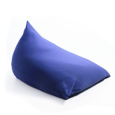 Pouf Géant Berlingot Bleu Marine Stretch BiG52