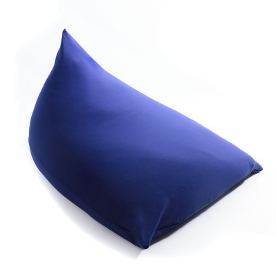 Riesiger Hocker Berlingot Marineblau Stretch BiG52