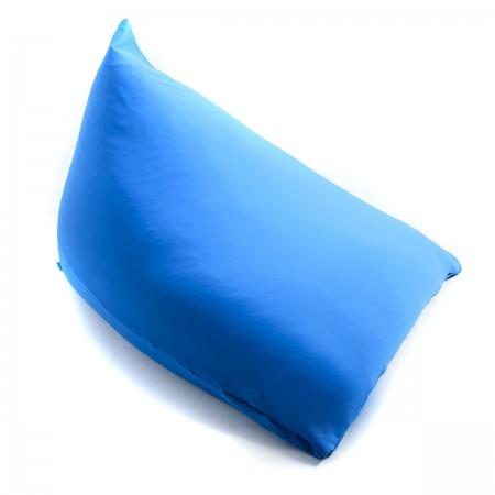 Giant Pouf Berlingot Blue Stretch BiG52