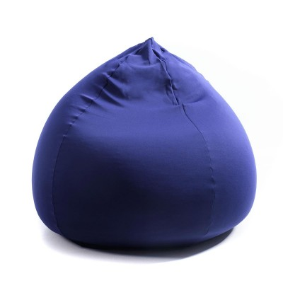 Puf Pera Azul Marino Stretch BiG52