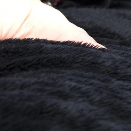 Pouf poltrona rotondo nero polare - BiG52 TiTAN S
