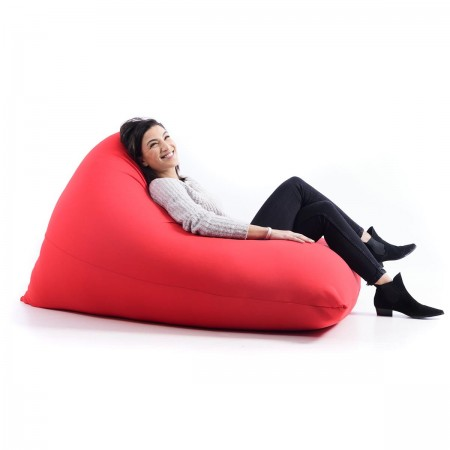 Puf gigante rojo Stretch BiG52