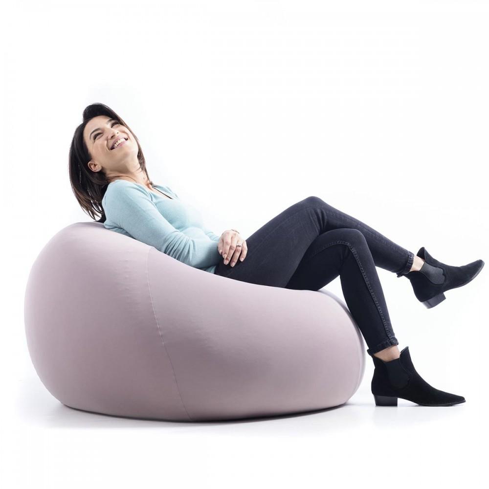 Sitzsack Birne Taupe Stretch BiG52
