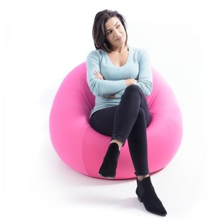 Sitzsack Birne Pink Stretch BiG52