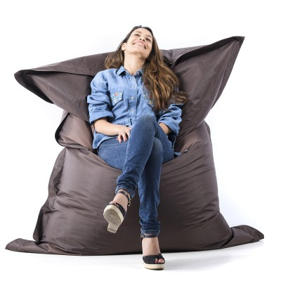 Pouf gigante marrone cioccolato BiG52