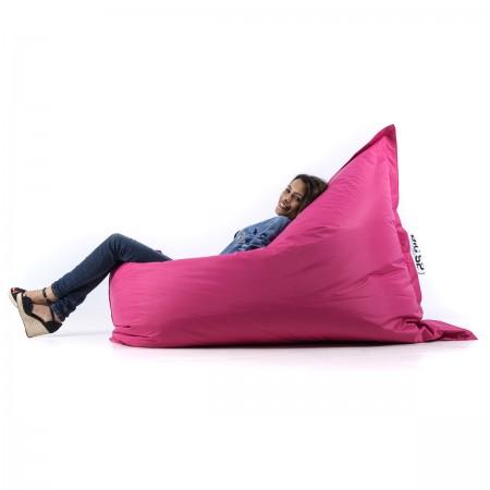 Riesiger rosa Sitzsack BiG52