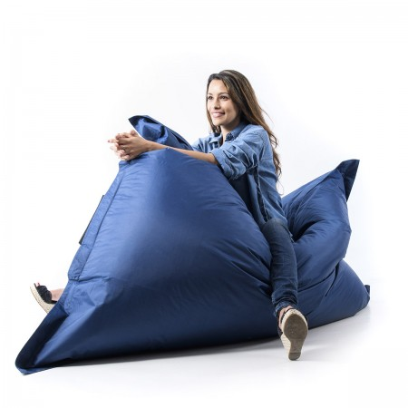 Puf Gigante Azul Marino BiG52