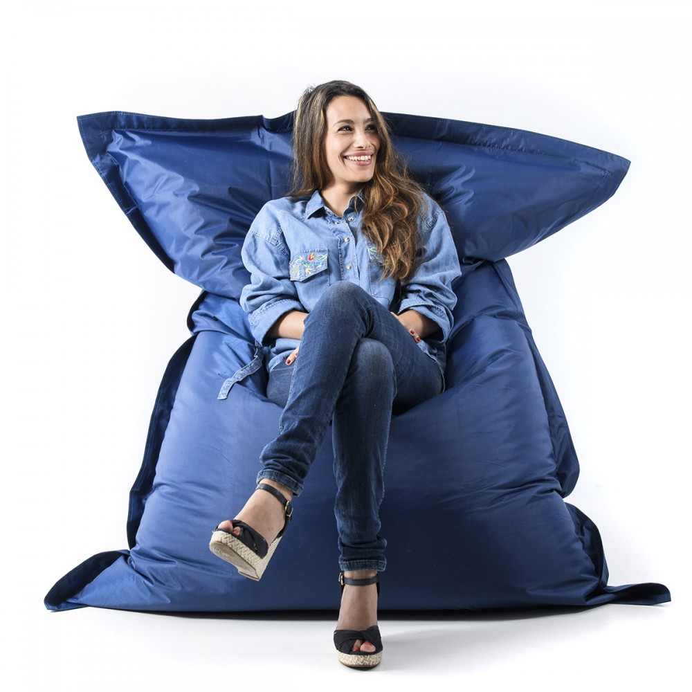Pouf gigante blu navy BiG52