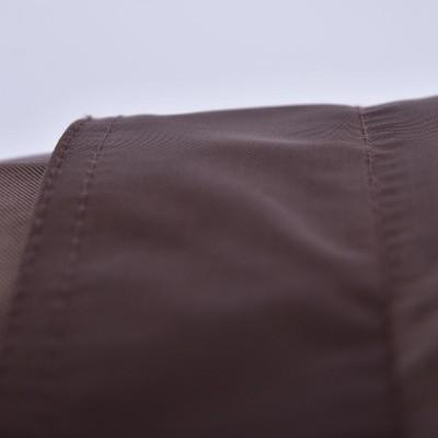 Riesiger schokoladenbrauner Hocker BiG52