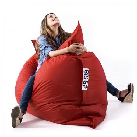 Housse pouf géant BiG52 CLASSIC Rouge