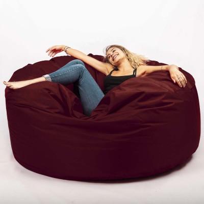 Riesiger Sitzsack im Freien XXXL BiG52 TiTAN - Bordeaux