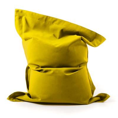Puf gigante Velero al aire libre Amarillo BiG52
