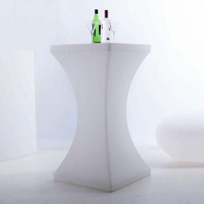 Mesa de pie con iluminación LED multicolor - SQUARE