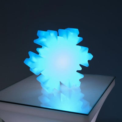 Copo de nieve con luz LED 40C