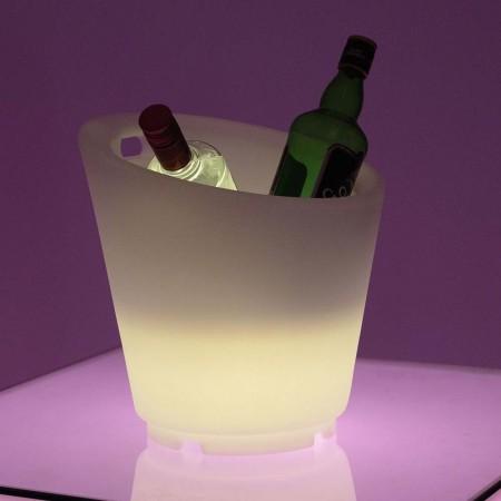 Seau à Champagne 27S Lumineux à LED Multicolore