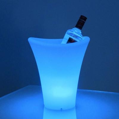 Seau à Champagne 31S Lumineux à LED Multicolore